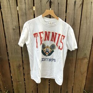 Vintage Men's Tennis Bloomies Graphic Shirt